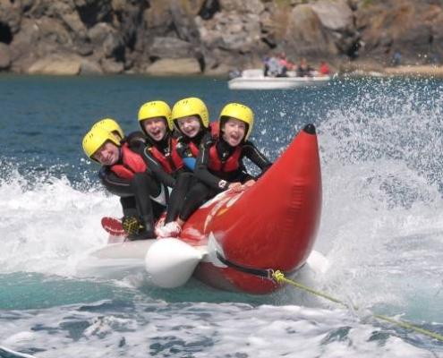 Banana rides & wakeboarding
