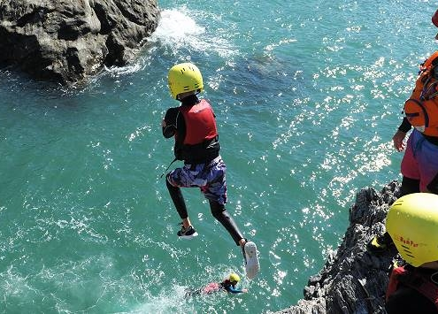 Coasteering Salcombe Devon